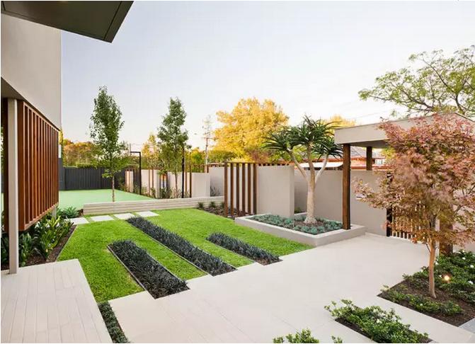 江西户外地板:庭院地面铺装设计